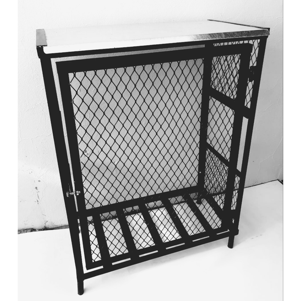 double-19kg-gas-cylinder cage