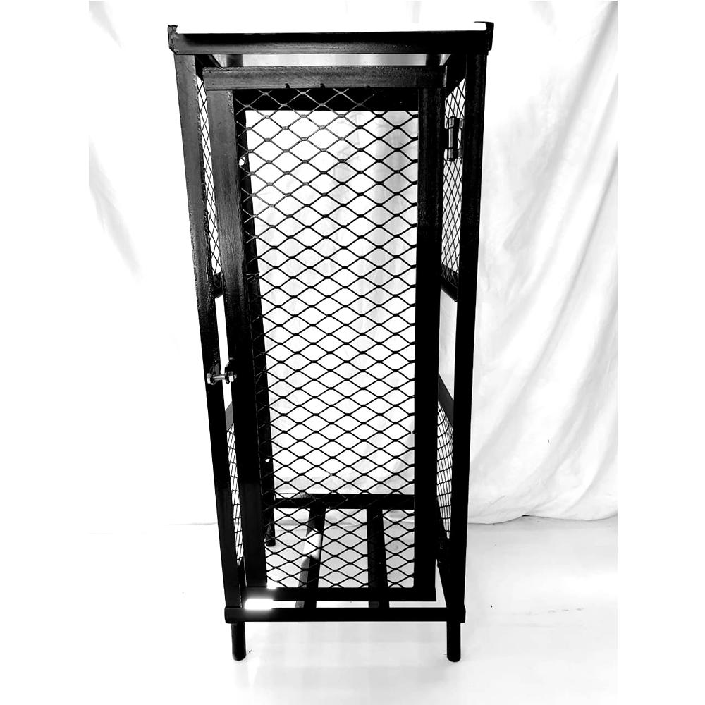 single-19kg-gas-cylinder cage