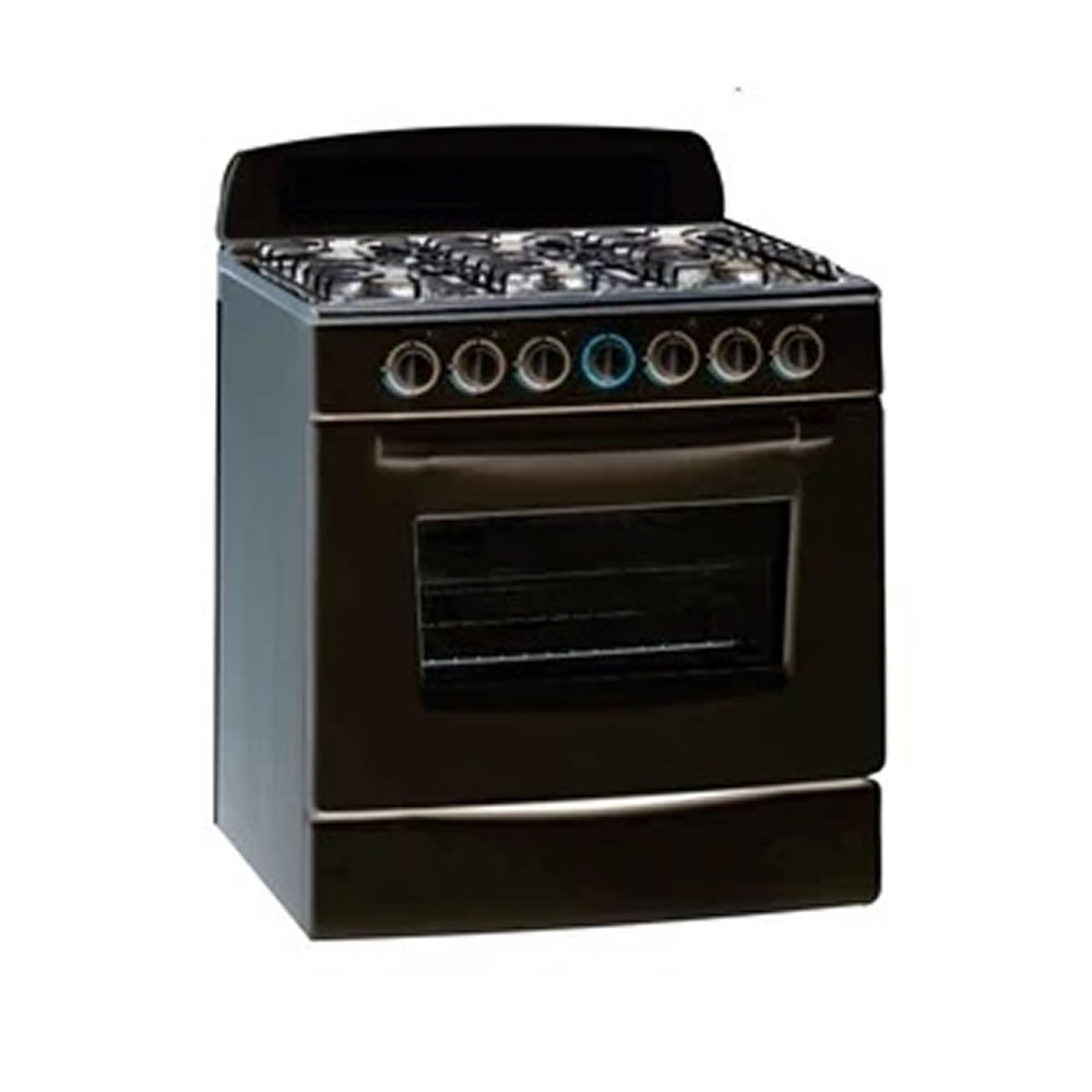 6 PLATE GAS OVEN AND STOVEa